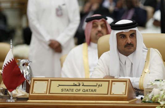 L'émir du Qatar Tamim Ben Hamad Al-Thani en novembre 2015.