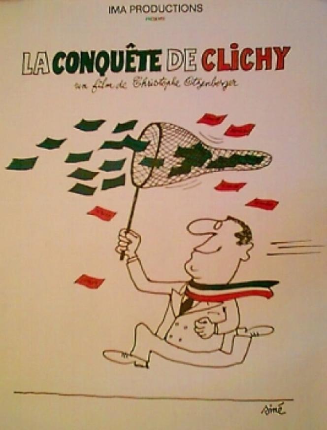 Affiche du film « La Conquête de Clichy», sorti en 1995.