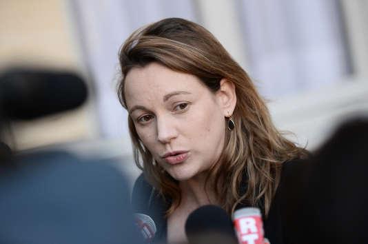La députée sortante de la troisième circonscription des Français de l'étranger, Axelle Lemaire.