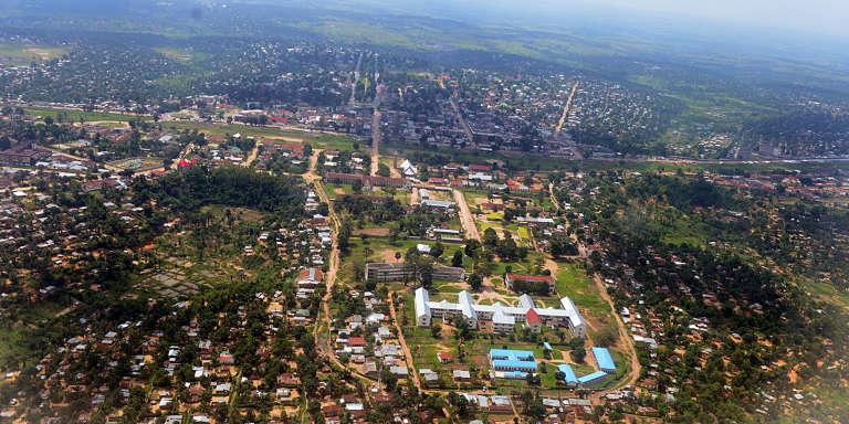La ville de Kananga, capitale du Kasaï-Central.