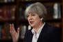 La première ministre britannique Theresa May en campagne dans le centre de Londres, le 5 juin.
