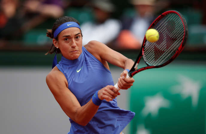 Caroline Garcia, le 5 juin à Roland-Garros.