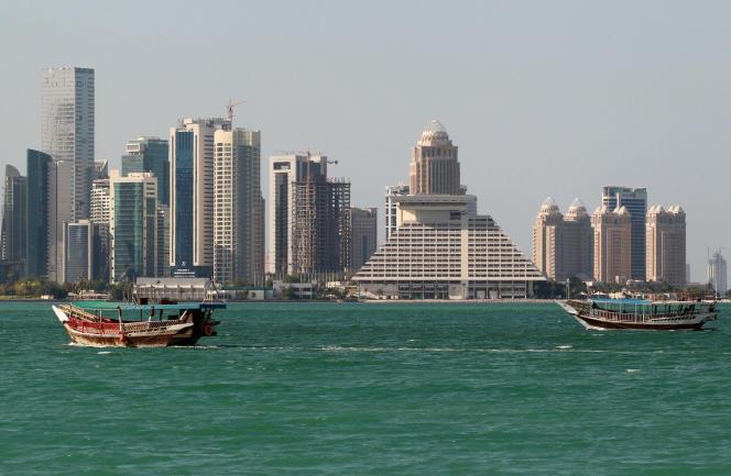 Doha, la capitale du Qatar.