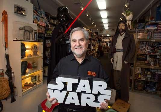Steve Sansweet, le propriétaire du Rancho Obi-Wan, en 2015.