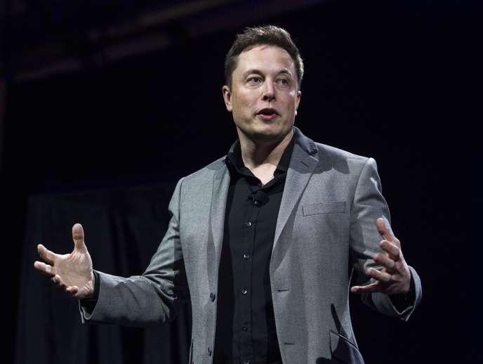 Elon Musk, en avril 2015.