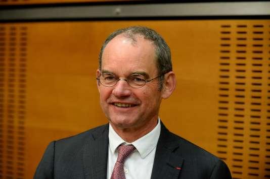 Patrick Jeantet, le PDG de SNCF Réseau, le 24 mai, à Paris.