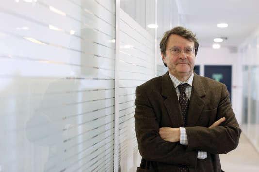 Erik Izraelewicz, ancien directeur des rédactions du «Monde».