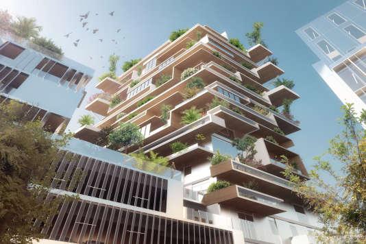 Bordeaux continue de miser sur le bois for Appartement bordeaux euratlantique