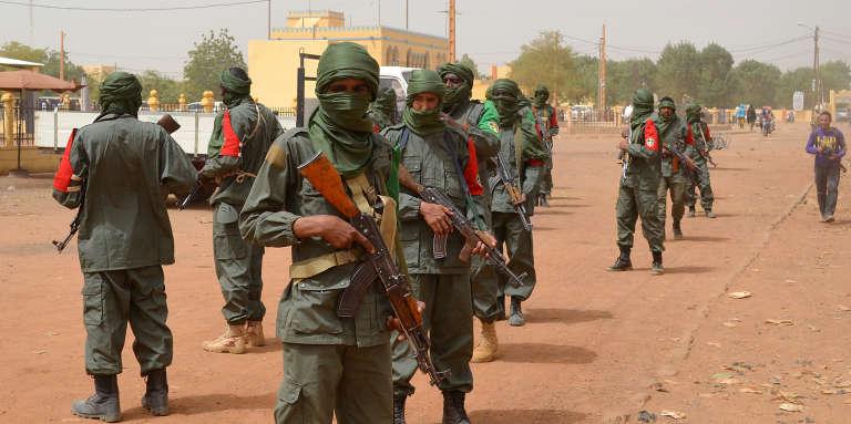 Soldats maliens en patrouille à Gao, dans le nord du Mali en février 2017.