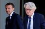 «M. Mailly remet au goût du jour le « réformisme militant » de FO et tente de peser dans le jeu contractuel »(Jean-Claude Mailly , à droite, et le président Macron, à l'Elysée, le 23 mai).