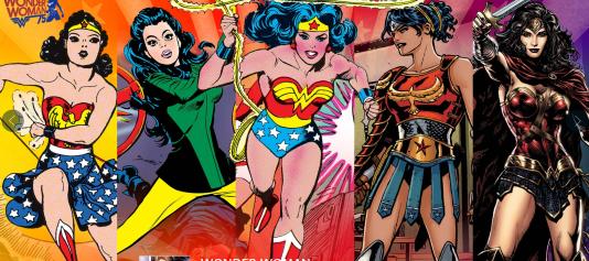 En 76 ans, l'allure de Wonder Woman dans les comics a fortement évolué.