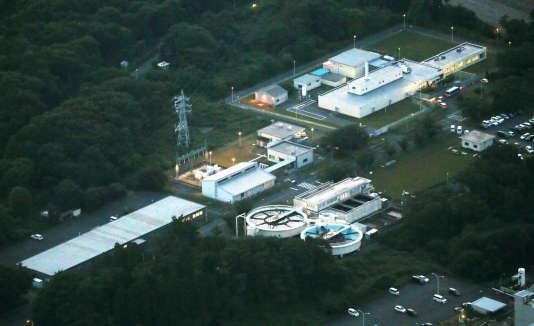 Le Centre de recherche et développement d'Oarai dans l'est du Japon.