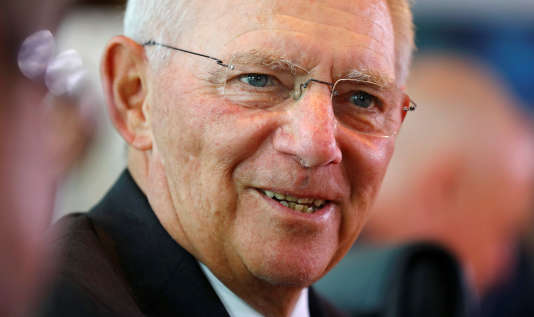 Wolfgang Schäuble, le ministre allemand des finances, le 7 juin, à Berlin.
