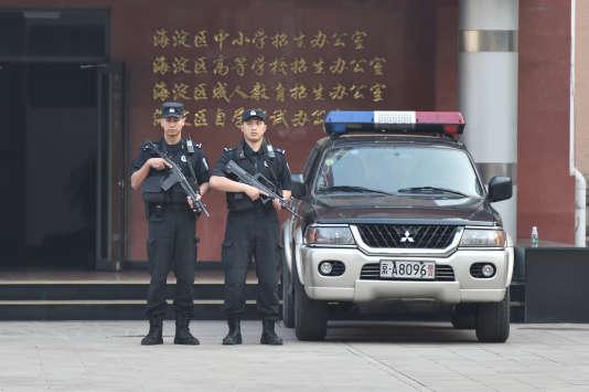 Une enquête est en cours pour déterminer les causes de la déflagration, signale la police de Fengxian, dans la province du Jiangsu, où est situé l'établissement.