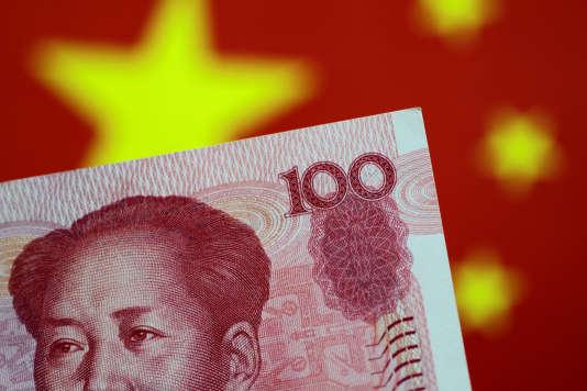 Billet de 100 yuans, le 31 mai 2017.