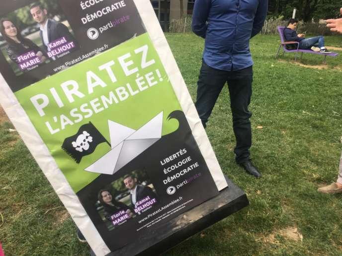 Le Parti pirate compte« pirater l'Assemblée».
