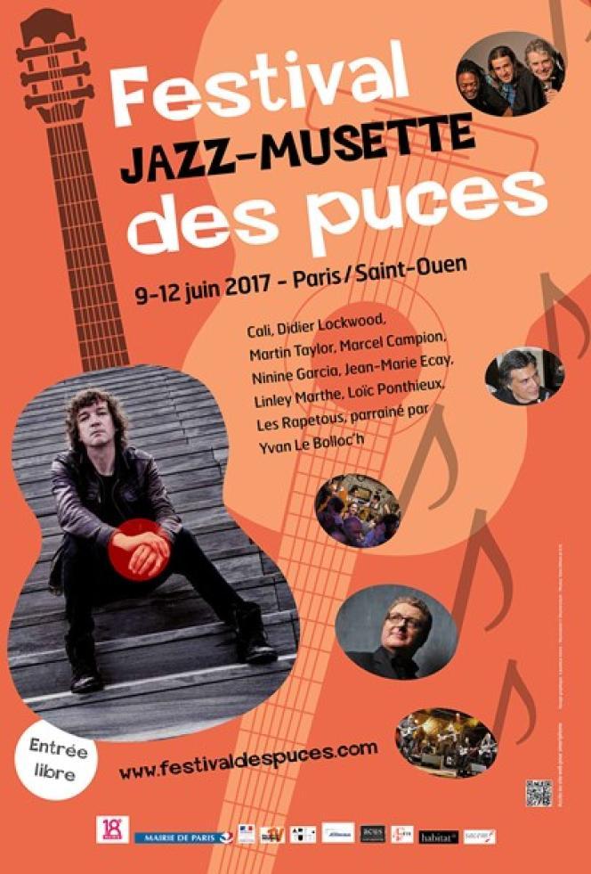 Le festival Jazz musette des puces à Paris/Saint-Ouen.