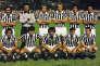 L'équipe de la Juventus de Turin dans les années 1980.