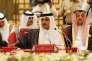 L'émir du Qatar,le prince Tamim ben Hamad Al Thani, à Manama (Bahreïn) en décembre 2016.