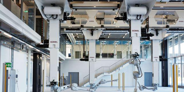 La laboratoire de robotique de l'ETH à Zurich en Suisse