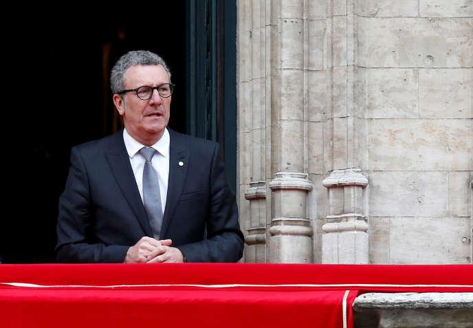Yvan Mayeur, le maire de Bruxelles, le 8 mars 2016.