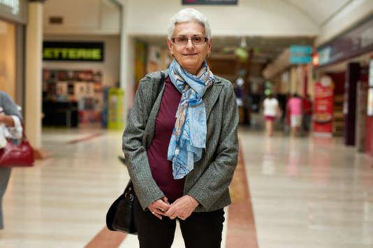 Pascale De Sousa Correia, 63 ans, « pilier»de la zone commerciale d'Avignon.