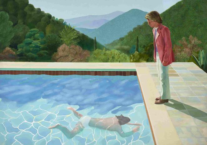 «Portrait of an Artist(Pool with Two Figures)», de David Hockney, a été adjugé pour 90,3 millions de dollars (près de 80 millions d'euros) en novembre 2018.