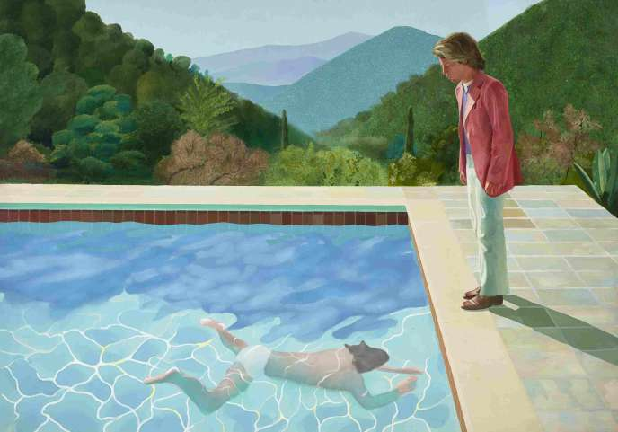 « Portrait of an Artist (Pool with Two Figures) », de David Hockney, a été adjugé pour 90,3 millions de dollars (près de 80 millions d'euros) en novembre 2018.