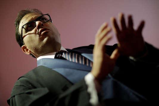 Marcus Vinicius Furtado Coelho, l'avocat du président brésilien Michel Tremer.