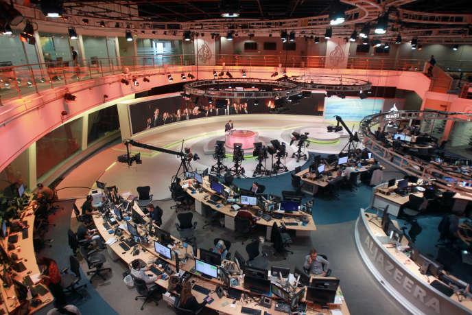 Dans la rédaction d'Al-Jazira à Doha, le 8 juin.