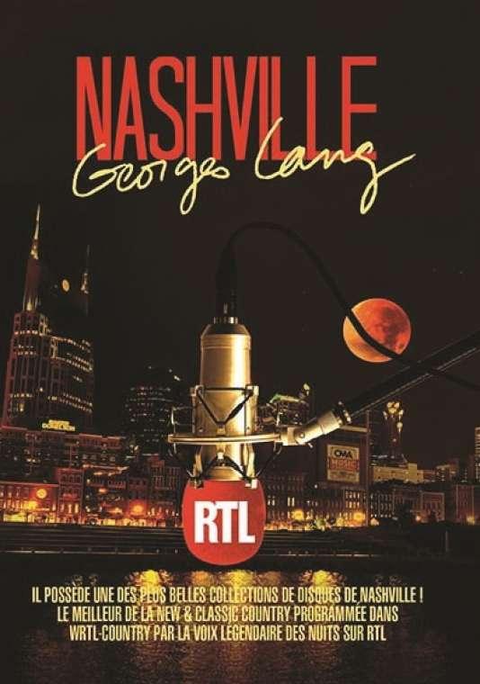 Pochette du coffret« Nashville», sélection de divers artistes par Georges Lang.