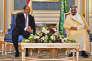 Le président égyptien Abdel Fattah al-Sissi a été reçu par le roi Salman, à Riyad (Arabie saoudite), le 23 avril 2017.