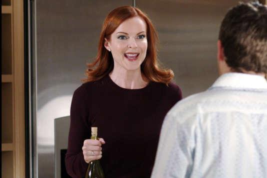 Bree Van de Kamp (Marcia Cross) dans l'épisode 16 de la saison 2 de «Desperate Housewives ».