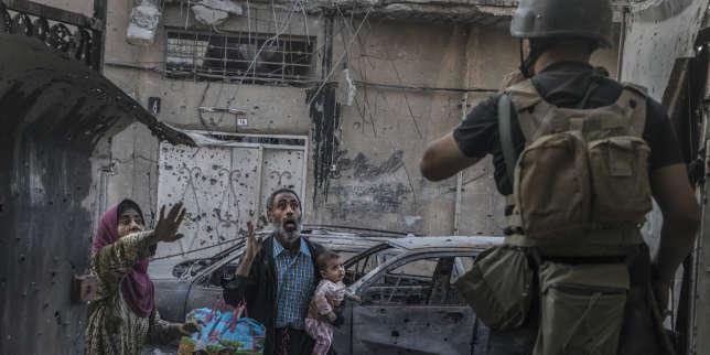 En Irak, la fuite éperdue des civils de Mossoul