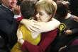 La première ministre écossaise, Nicola Sturgeon, le 9 juin à Glasgow.
