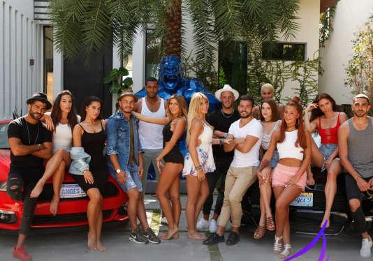 Les candidats de l'émission de télé-réalité « Les Anges».