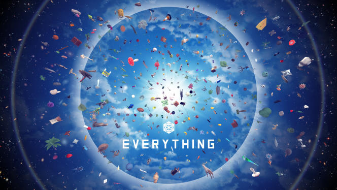 « Everything» a été développé par l'Irlandais David Oreilly.