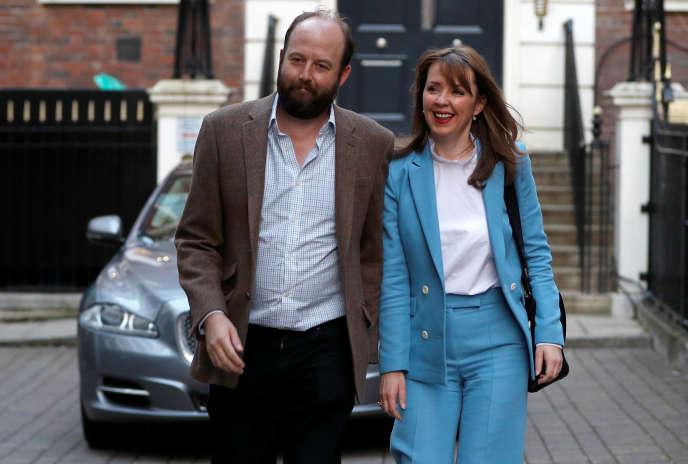 Nick Timothy et Fiona Hill faisaient partie des plus proches conseillers de Theresa May.