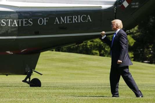 Donald Trump le 9 juin à Washington D.C.