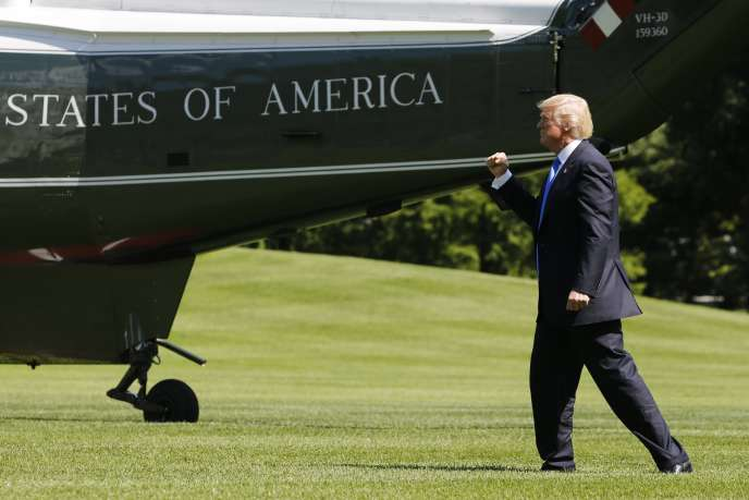 Donald Trump le 9 juin à Washington D.C.