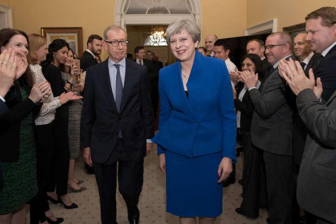 Theresa May, le 9 juin