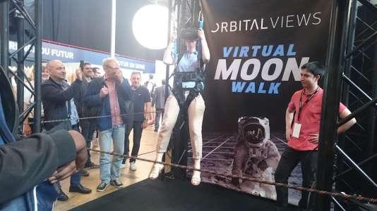 Orbital Views, un accès à l'espace et à l'apesanteur de la Lune.