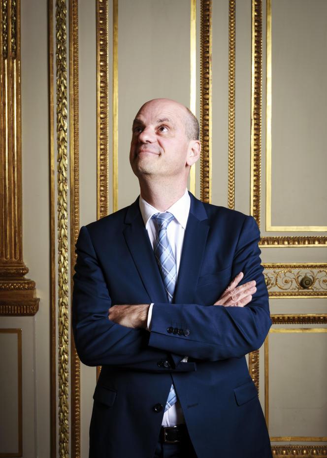 Jean-Michel Blanquer,ministre de l'éducation nationale, à Paris, le 18 mai.