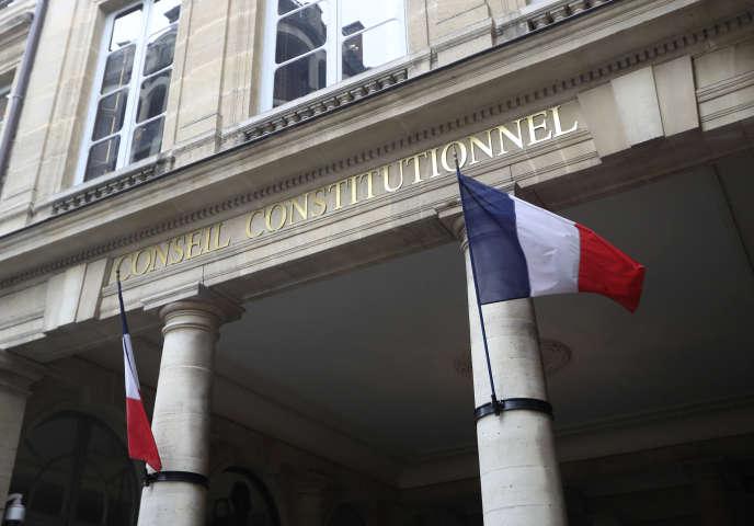 Les députés LR ont saisi le Conseil constitutionnel au sujet de la loi sur la moralisation de la vie politique.