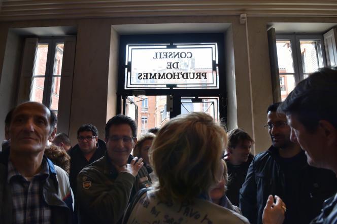 Conseil des prud'hommes de Toulouse, un jour d'audience.