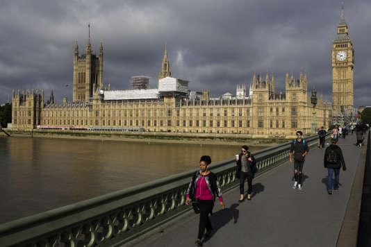 Le palais de Westminister, où siège la Chambre des communes, à Londres, le 9juin.