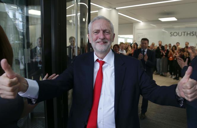 Jeremy Corbyn, vendredi 9 juin, à Londres.