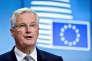 « Comme Michel Barnier, le négociateur en chef du Brexit pour la Commission européenne, l'a souligné à plusieurs reprises, les négociations devront être conclues au plus tard à l'automne 2018, afin de pouvoir ratifier l'accord dans les temps». (Photo: Michel Barnier, à Bruxelles, le 22 mai).