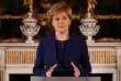Nicola Sturgeon, leader du Parti national écossais (SNP) et première ministre du gouvernement régional, à Edimbourg, vendredi 9 juin 2017.
