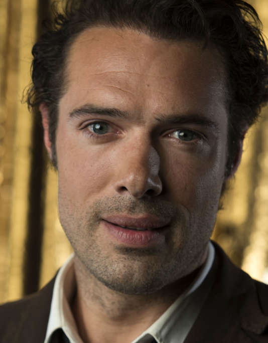 L'acteur Nicolas Bedos au CoLCoa French Film Festival, le 29 avril à Los Angeles, en Californie.